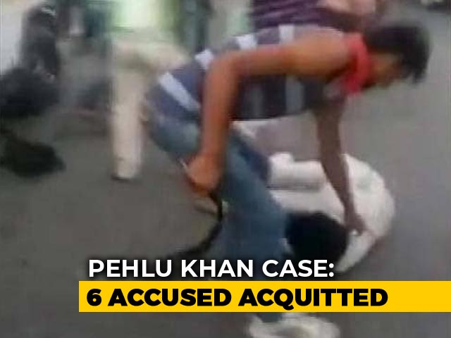 Video : 6 Accused In 2017 Mob Killing Of Pehlu Khan Acquitted By Rajasthan Court