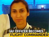 Video : Shaliza Dhami Is First Woman Air Force Officer To Become Flight Commander