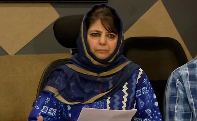 PDP Leaders Denied Permission To Meet Detained Party Chief Mehbooba Mufti