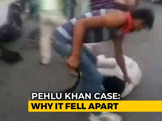 Video : Why Eye-Witness Video, NDTV Sting Were Dismissed In Pehlu Khan Case