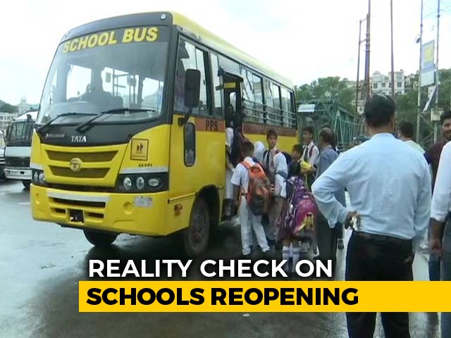 Video : Schools Reopen In Kashmir But Few Children Show Up
