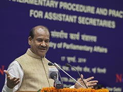 Want Modern, Hi-Tech Parliament By 2022, Says Lok Sabha Speaker Om Birla