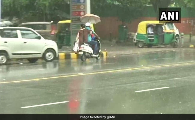 Rain Hits Parts Of Delhi, More Showers Likely This Week