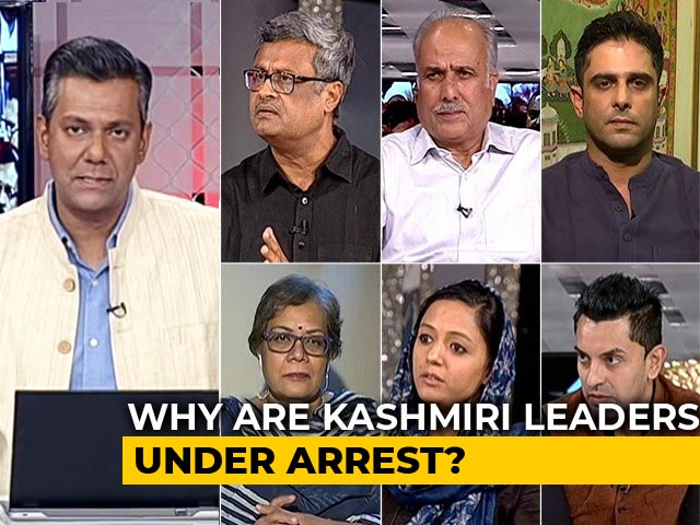 Video : Kashmir 'Modi'fied, Congress Divided; Omar Abdullah, Mehbooba Mufti Remain Arrested