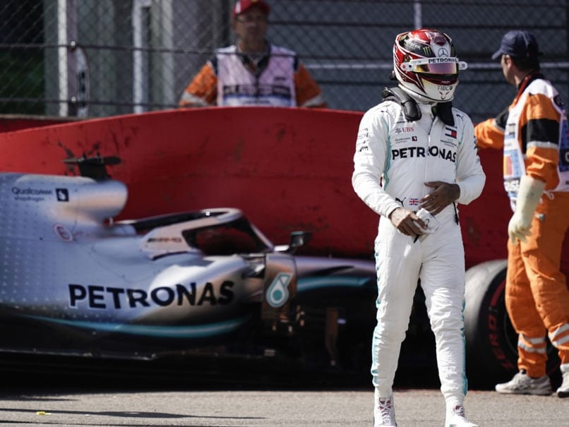 Lewis Hamilton Crash Causes Red-Flag Stoppage At Spa Practice