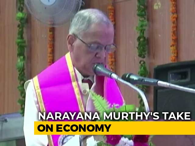 "Video : ""Investor Confidence At A Historic High"": NR Narayana Murthy"