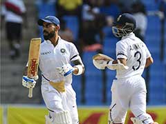 1st Test: Ajinkya Rahane, Virat Kohli Take India To Commanding Position Over West Indies On Day 3