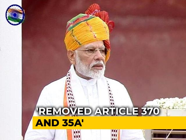 """Video : """"Realising Dreams Of People Of J&K Our Responsibility,"""" Says PM Modi"""