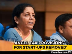 Video: Angel Tax Provisions For Start-Ups Removed, Says Finance Minister
