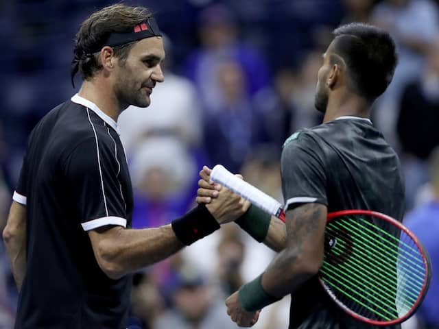 He is a good clay court player: Roger Federer on Sumit Nagal