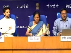 Nirmala Sitharaman Announces Measures To Boost Auto Sector
