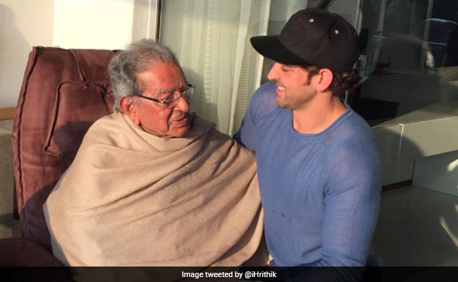 Director J Om Prakash, actor Hrithik Roshan's grandfather, dies at 93