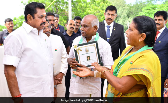 Elderly Tamil Nadu Couple, Who Fought Off Robbers, Get Bravery Awards