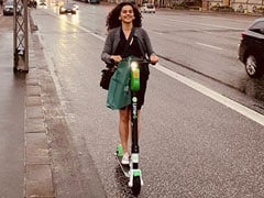 Make Way For Birthday Girl Taapsee Pannu And Her 'Chariot' As She Enjoys The 'Joyride Called Life'