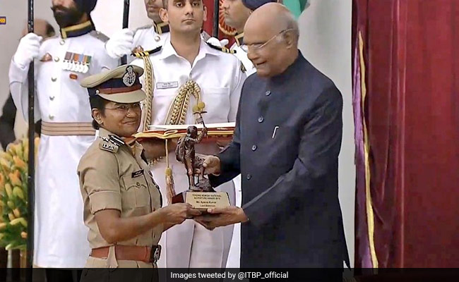 2 ITBP Officials Get Tenzing Norgay National Award From President