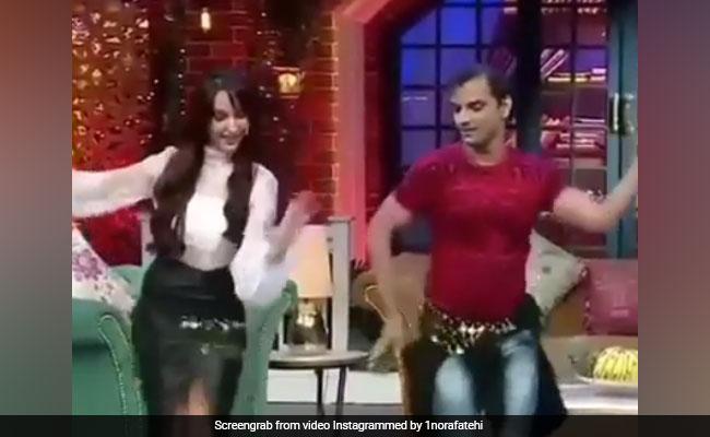 The Kapil Sharma Show: नोरा फतेही को बेली डांस में इस शख्स ने दी टक्कर, एक्ट्रेस रह गईं हैरान- देखें Video