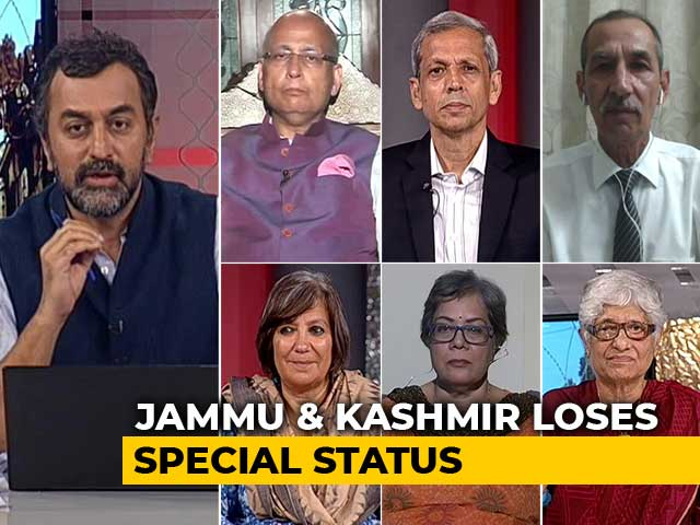 Video : PM Modi-Amit Shah's Kashmir 'Bombshell'