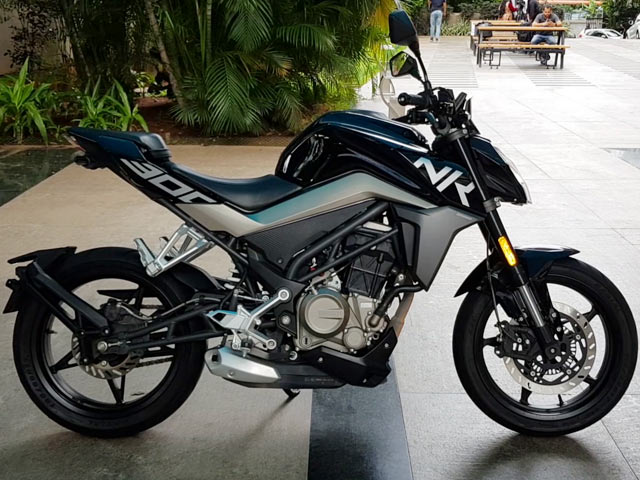 Video : CFMoto Bikes: First Look