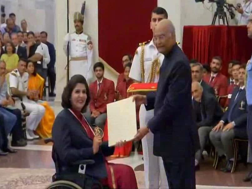 National Sports Day: Deepa Malik Basks In Khel Ratna Glory, Bajrang Punia Misses Ceremony