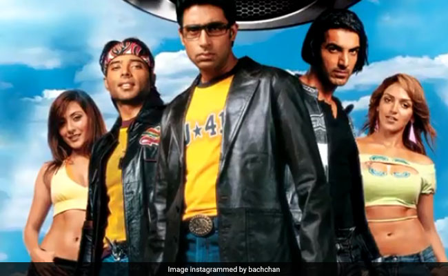 #15yearsofDhoom: Abhishek Bachchan pens a heartfelt note and shares some fond memories
