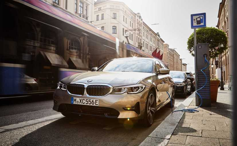 The BMW 330e hybrid gets a 2.0-litre engine is coupled with a single electric motor