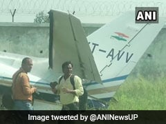 Private Aircraft Crashes In Aligarh, All Six Crew Members Aboard Safe