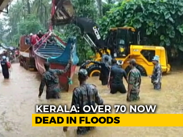 Video: 72 Dead In Flood-Hit Kerala, Amit Shah Visits Karnataka