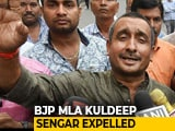 Video : BJP Expels Jailed Lawmaker Kuldeep Sengar, Accused Of Raping Unnao Teen