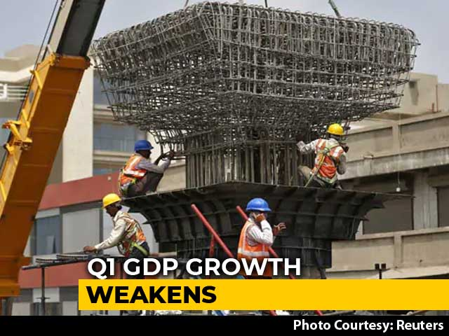 Video : India's Economic Growth At 6-Year Low, GDP Expands 5% In June Quarter