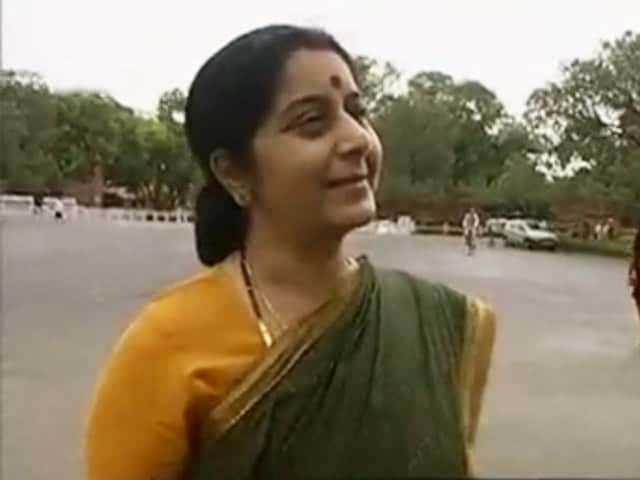 Video : Walk The Talk: Sushma Swaraj (Aired: May 2006)