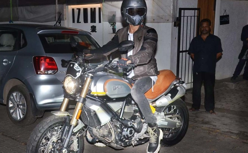 Shahid Kapoor's Ducati Scrambler 1100 comes with subtle additions