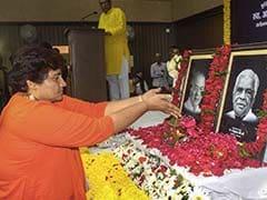 At Memorial For BJP Leaders, Pragya Thakur's Opposition Conspiracy Theory