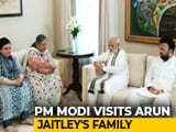 Video : PM Visits Arun Jaitley's Home Hours After Return From 3-Nation Tour