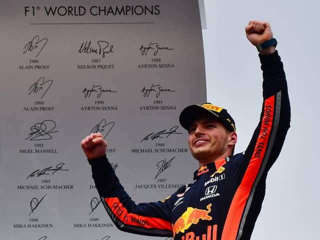 Max Verstappen Looms Large In Lewis Hamiltons Rear View Mirror