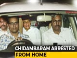 Video : P Chidambaram Arrested In INX Media Case Amid High Drama