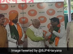 OP Chautala's Party Lawmaker, Ex-Minister Join BJP In Haryana