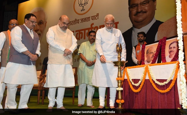 'BJP Scaled New Heights Due To Ideology, Not Family': PM Modi To Lawmakers