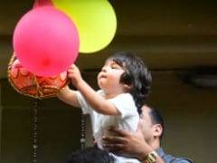 Janmashtami 2019: Taimur's Adorable <I>Dahi Handi</i> Debut With Little Sister Inaaya