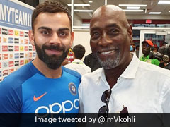 "Kohli, Richards Come Together For A ""Special Interaction"""