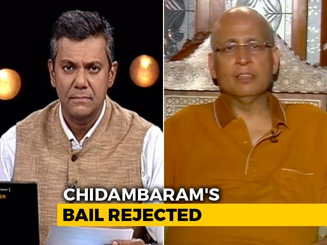 Video : No Probable Cause For P Chidambaram's Arrest: Congress's Abhishek Singhvi