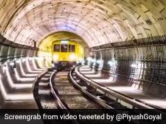 भारत में जल्द पहली बार नदी के नीचे दौड़ेगी ट्रेन, रेल मंत्री पीयूष गोयल ने शेयर किया ये VIDEO