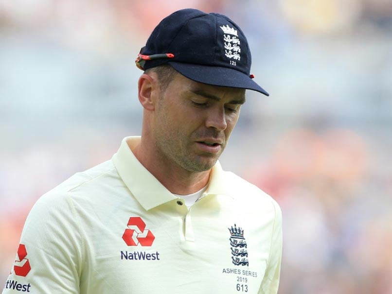 Ashes 2019: James Anderson Ruled Out Of Second Test With Calf Injury