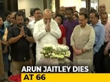 Video : Hundreds Gather At Arun Jaitley's Home To Pay Tribute, Cremation Tomorrow