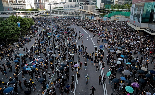 'Hey Democracy, Get Foreign Agents Outta Town': China Media On Hong Kong