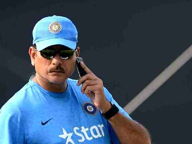 Ravi Shastri Among Six Candidates Shortlisted For Indias Coach Job: Report