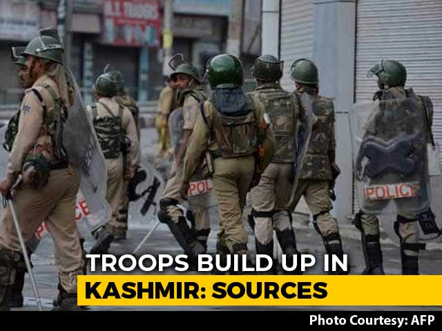 Video : 25,000 More Troops Being Moved To Kashmir, Week After 10,000-Strong Push