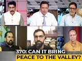 "Video: ""Not My India"" Vs ""Will Die For Kashmir"": Centre's J&K Move In 2 Emotions"