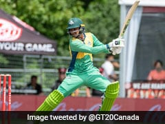 Watch: Shoaib Malik Destroys Window Glasses With Sixes During GT20 Canada Match