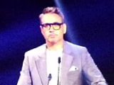 Video : Robert Downey Jr & Christina Aguilera Honoured As Disney Legends