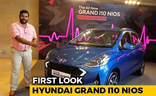 Hyundai Grand i10 NIOS First Look